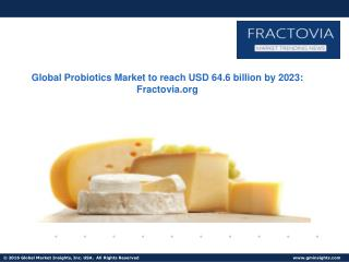 Probiotics Market in APAC region witness gains at 7.5% up to 2023; led by China and Japan