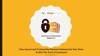 CyberSource Tokenization Magento 2 Extension