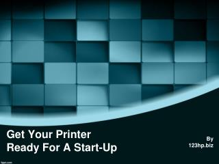 Get Your Envy 5540 Printer Ready For A Start-Up