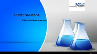 Buffer Solutions-Lobachemie