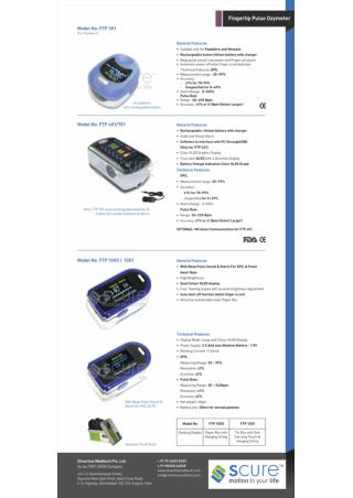Product Detailed Catalog - Silverline Meditech