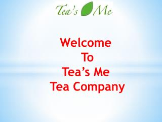 Shop Tea's Me Matcha Green Tea Powder For Healty And Happier Life.