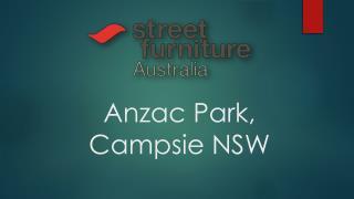 Anzac Park, Campsie NSW