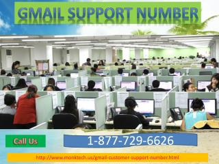 24*7 Effective & Secure Gmail Support Number @  1-877-729-6626