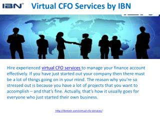 Best virtual CFO services by ibn