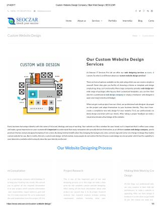 Web Designing Services|Best Website Design Company
