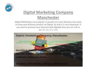 digital marketing company manchester