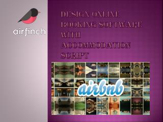 Design Online Booking Software With Accommodation Script