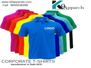 Get the best corporate t-shirts exporter in Delhi NCR.
