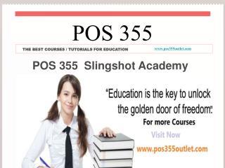 POS 355 Slingshot Academy / pos355outlet.com