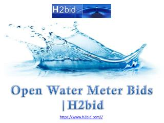 Open Water Meter Bids | H2bid