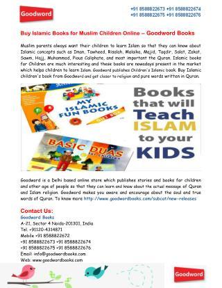 Buy Children's Islamic Books Online