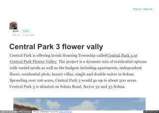 Central Park 3 Plots