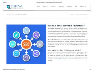 SEO Services that put your Company in the Spotlight!