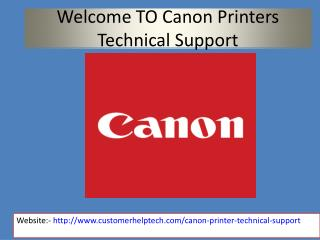 Seek Assistance on Printers by Canon Printer Support Number