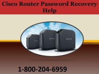 How to Recover Cisco Router Password ?