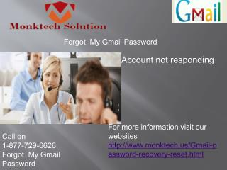 Call 1-877-729-6626 Gmail Recovery password– A Simplest Way to Resolution