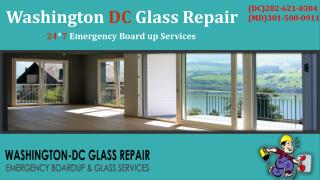 District of Columbia Commercial Glass Repair | Call @ (202) 621-0304(DC)