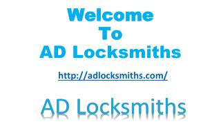 HOME - AD Locksmiths