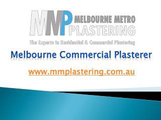 Melbourne Commercial Plasterer - mmplastering.com.au