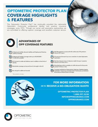 Optometrist professional liability coverage - Optometric Protector Plan