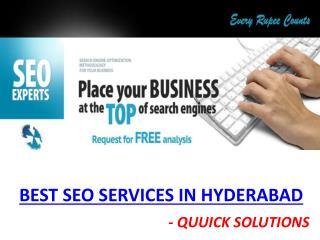 SEO Services In Hyderabad   SEO Companies in Hyderabad   Quuick