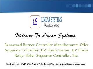UV Flame Sensor Manufacturers