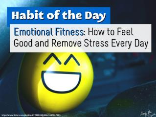 Emotional Fitness: How to Feel Good and Remove Stress Every Day (Habit of the Day)