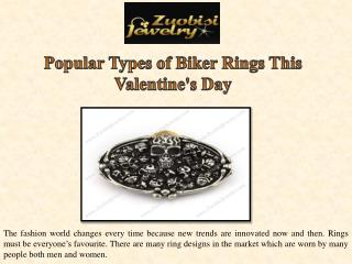Popular Types of Biker Rings This Valentine's Day