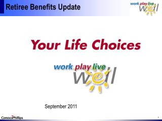 Retiree Benefits Update