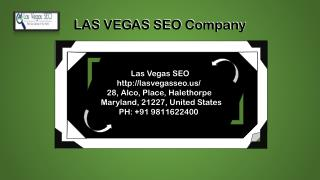 Affordable SEO Professional Company in Las Vegas