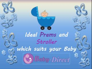 Buy Baby Stroller in Melbourne only at Baby-Direct