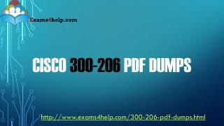 300-206 PDF Dumps
