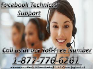 Facebook Technical Support Call at 1-877-776-6261