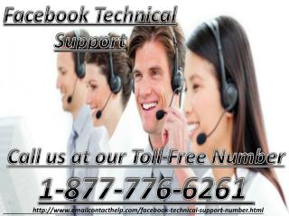 Facebook Technical Support 1-877-776-6261 makes it better