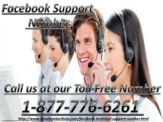 Need Facebook Support Number Call at 1-877-776-6261