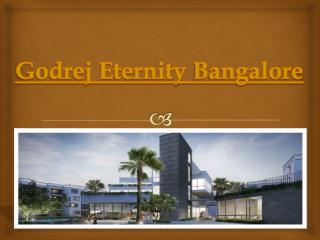 A New Family Planning with Godrej Eternity