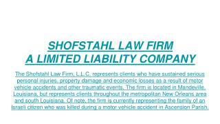 Personal injury attorney Mandeville LA