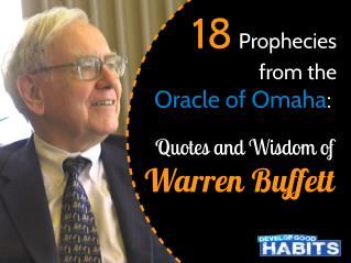 18 Prophecies from the Oracle of Omaha: Quotes and Wisdom of Warren Buffett
