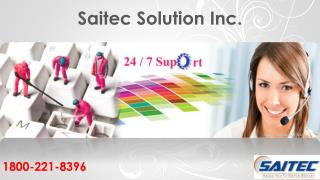 Saitec Solutions (USA), Inc. | Call now @ 1800-221-8396