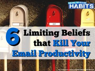 6 Limiting Beliefs that Kill Your Email Productivity