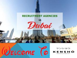 Dubai recruitment agencies