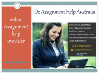 OZ Assignment Help Australia