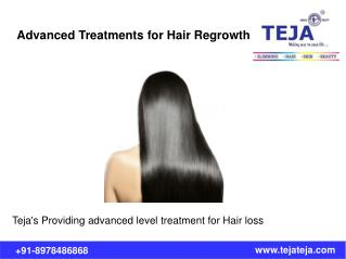 Advanced Treatments for Hair Regrowth