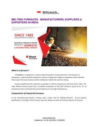 Melting Furnaces India