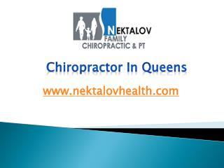 Chiropractor In Queens - www.nektalovhealth.com