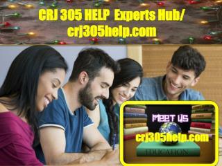 CRJ 305 HELP  Experts Hub/ crj305help.com