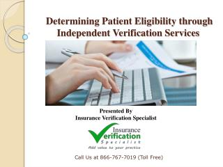Fraudulent patient claims and false cases are on the rise, eligibility authorization stands as a top priority.
