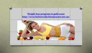 Weight loss program in gold coast