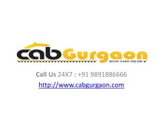 car rental in gurgaon